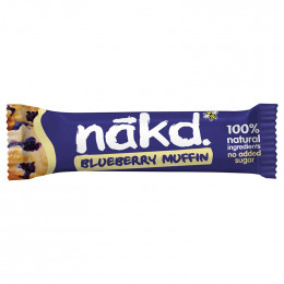 Barre de Fruits Nakd 100% Naturelle Blueberry Muffin