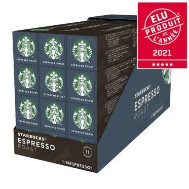 Capsule Starbucks ® by Nespresso ® Espresso Roast - 12 tubes - 120 capsules