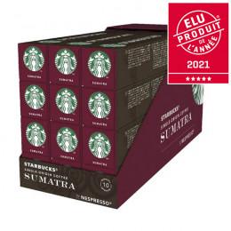 Capsule Starbucks ® by Nespresso ® Sumatra - 12 tubes - 120 capsules
