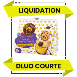 DESTOCKAGE - Dosette Senseo compatible Columbus Café Saveur Chocolat Cookie - 10 dosettes - DLUO 01/06/2021
