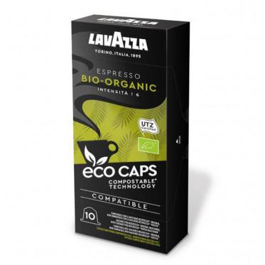 Capsules Nespresso compatible Lavazza Espresso Bio-Organic Eco Caps - 10 capsules