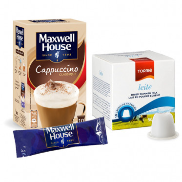 Pack Cappuccino Maxwell House pour Nespresso - 10 boissons
