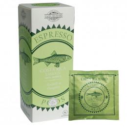 Dosette ESE Cafés Richard Costa Rica Tarrazu - 25 dosettes emballées individuellement