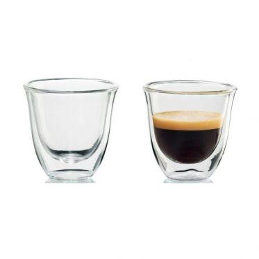 Tasse en verre double paroi Delonghi Espresso 6 cl - par 2