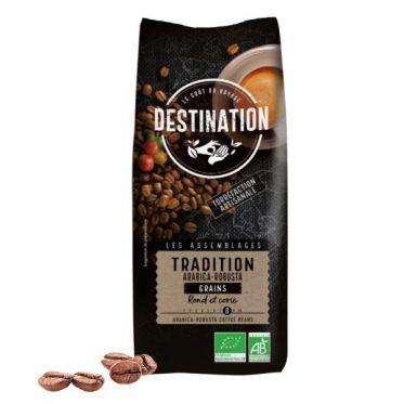 Café en Grains Bio Destination Grand Comptoir Tradition - 1 kg