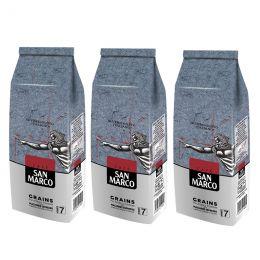 Café en Grains San Marco - 3 paquets - 3 Kg