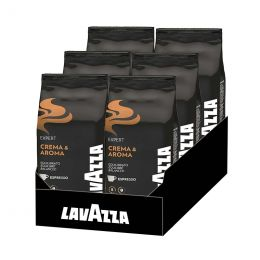 Café en Grains Lavazza Crema & Aroma - 6 paquets - 6 Kg