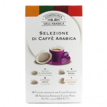 Dosette ESE Cie dell' Arabica Selezione Caffè Arabica x 16