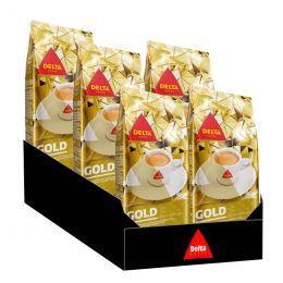 Café en Grains Delta Gold - 5 paquets - 2,5 Kg