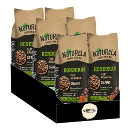 Café en Grains Bio Naturela Honduras Pur Arabica - 6 paquets - 3 kg