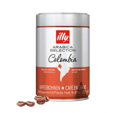 Café en Grains Caffè illy Espresso Sélection Colombie - 250 gr