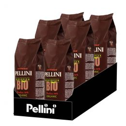 Café en Grains Bio Pellini 100% Arabica - 6 Paquets - 3 Kg