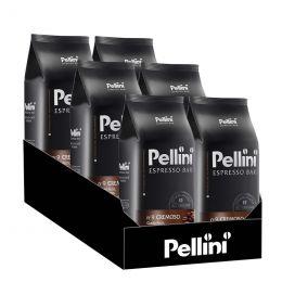 Café en Grains Pellini Espresso Bar Cremoso N°9 - 6 Paquets - 6 Kg