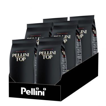 Café en Grains Pellini Top 100% Arabica - 6 Paquets - 6 Kg