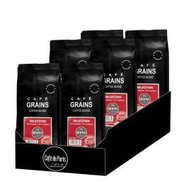 Café en Grains Café de Paris Selection - 6 paquets - 6 Kg