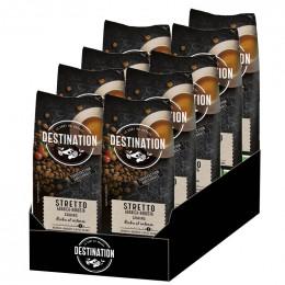Café en Grains Bio Destination Grand Comptoir Stretto - 4 paquets - 4 Kg