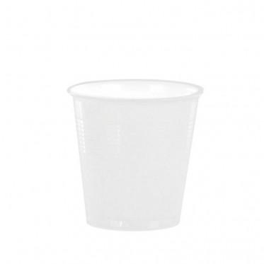 Accessoires : Gobelets au détail en Plastique Blanc pour café expresso 10cl - par 100