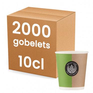 en Carton pour café expresso 10 cl