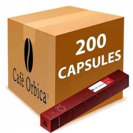 Capsule Nespresso Compatible Café Orubia Intenso - 20 tubes - 200 capsules