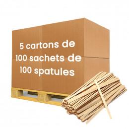 Spatule Distributeur Automatique en Bois Biodégradable 105 mm - par 50.000