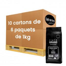 Café en Grains Café de Paris Arabica Grand Arôme - 60 paquet - 60 Kg