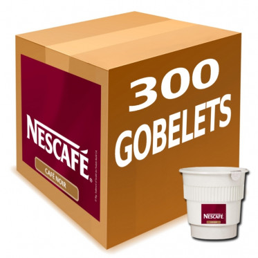 Gobelet Pré-dosé au Carton Café Nescafé Noir Non Sucré - 300 boissons