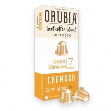 Capsule Nespresso Compatible Café Orubia Cremoso - 10 capsules