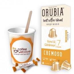 Pack Capsule Nespresso Compatible Orubia Cremoso - 200 boissons