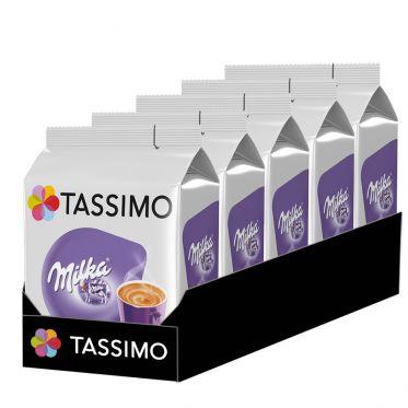 Capsule Tassimo Chocolat Chaud Milka - 5 paquets - 40 capsules