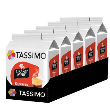 Capsule Tassimo Café Grand'Mère Espresso - 5 paquets - 80 capsules