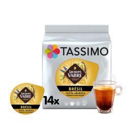 Capsules Tassimo Café Jacques Vabre Brésil 100% Arabica - 14 capsules