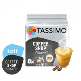 Capsule Tassimo Coffee Shop Flat White - 8 boissons