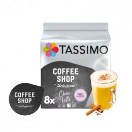 Capsule Tassimo Coffee Shop Chai Latte - 8 boissons
