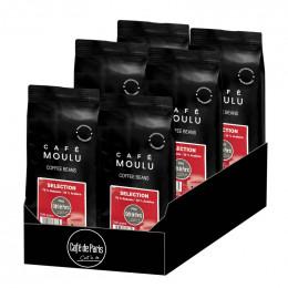 Café Moulu Café de Paris Arabica Selection - Lot de 6 paquets - 6 Kg