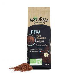 Café Moulu Bio Naturela Déca Pur Arabica - 250 gr