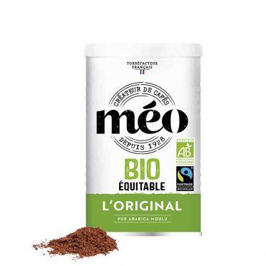 Café Moulu Bio Cafés Méo Classique - Boite métal - 250 gr