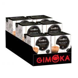 Capsule Dolce Gusto Compatible Café Gimoka Espresso Vellutato - 6 Paquets - 96 Capsules