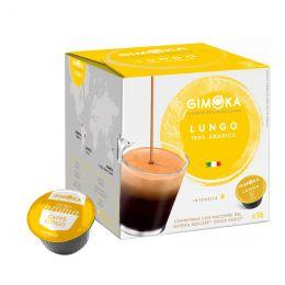 Capsule Dolce Gusto Compatible Café Gimoka Lungo - 16 Capsules