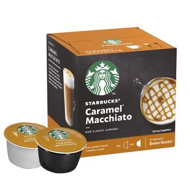 Capsule Starbucks ® by Dolce Gusto ® Caramel Macchiato - 1 boîte - 12 capsules - 6 boissons