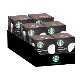 Capsule Starbucks ® by Dolce Gusto ® Cappuccino - 6 boîtes - 72 capsules - 36 boissons