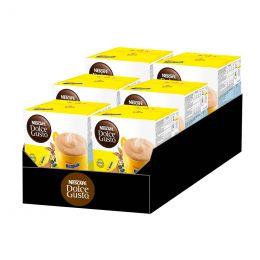 Capsules Nescafé Dolce Gusto Chocolat Chaud Nesquik - 6 boîtes - 96 capsules