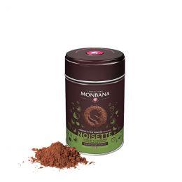 Chocolat Chaud Monbana Noisette 32% Cacao - Boîte métal - 250 gr