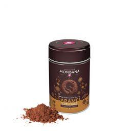 Chocolat Chaud Monbana Caramel 32% Cacao - Boîte métal - 250 gr