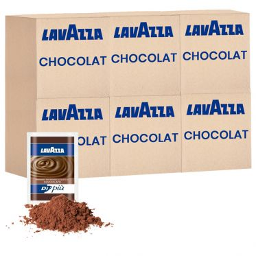 Chocolat Chaud Lavazza - 6 boîtes - 300 dosettes individuelles