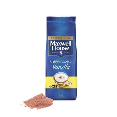 Cappuccino Vanille Maxwell House - 1 Kg