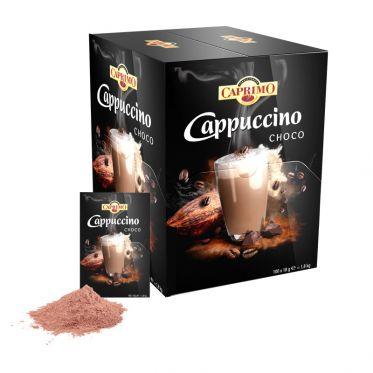 Cappuccino Caprimo Choco - Boîte distributrice - 100 dosettes individuelles