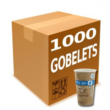Gobelet en Gros en Carton Coffee To Go 30 cl - par 1000