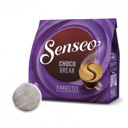 Dosette Senseo Chocolat Chaud Chocobreak - 8 dosettes