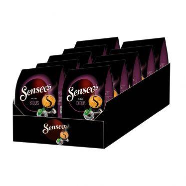 Dosette Senseo Café Noir Exquis - 10 paquets - 320 dosettes compostables