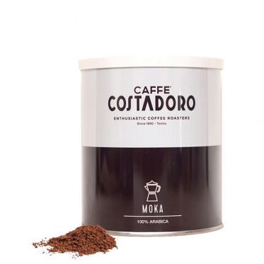Café Moulu Costadoro Arabica Moka - Boite métal - 250 gr